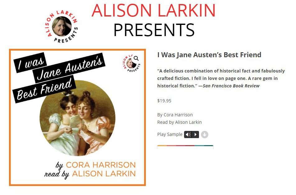 Audio Book: I Was Jane Austin's Best Friend