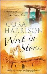 Writ in Stone, the fourth Burren mystery